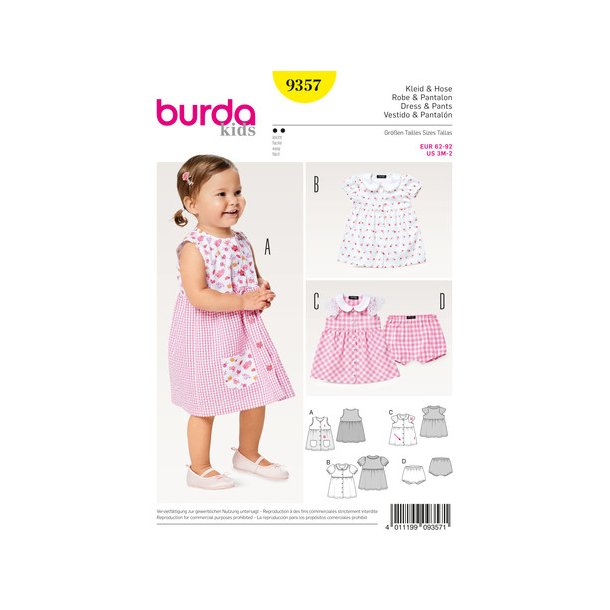 Baby kjole og bukser