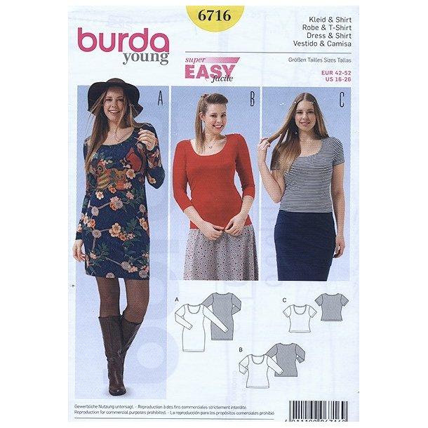 T - shirt og kjole
