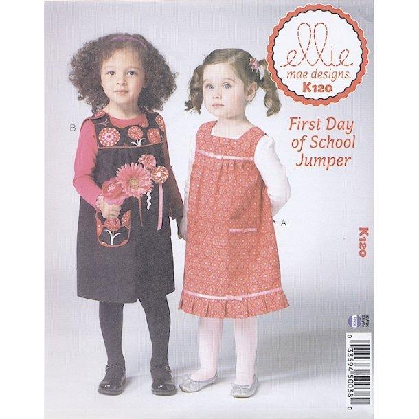 Børne forklædekjole