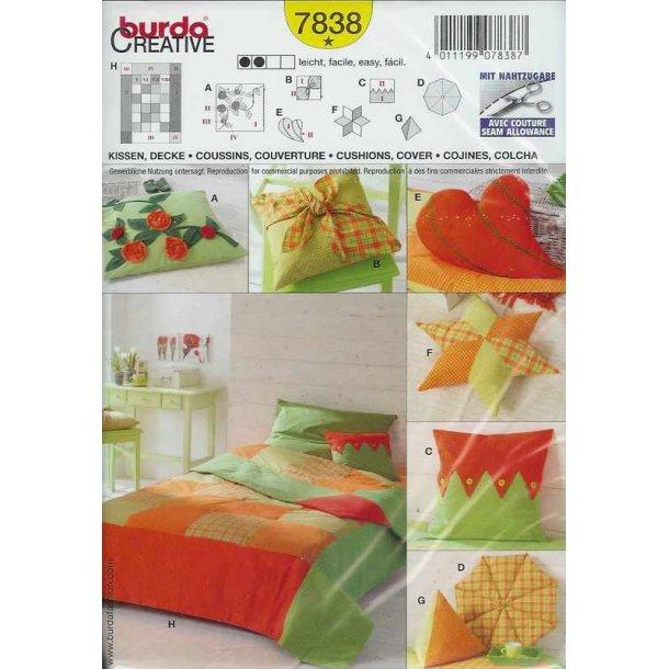 Sengetæppe og pudebetræk