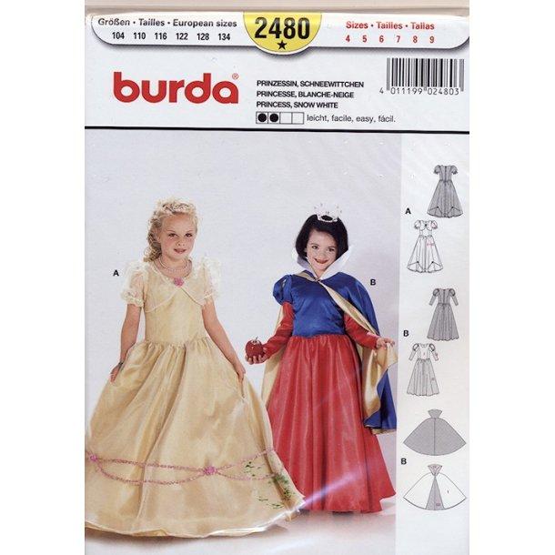 Prinsesse kostume