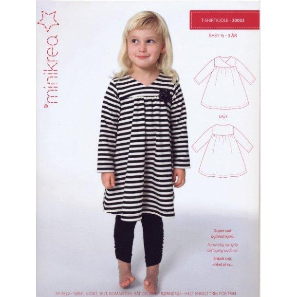 T - Shirtkjole Baby ½ - 3 år
