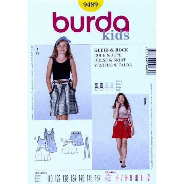 Kjole og nederdel